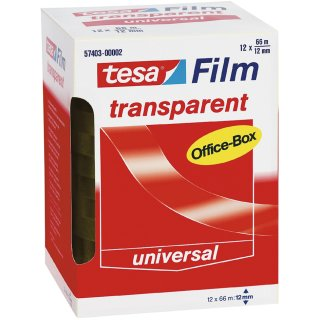 tesa Film transparent 19 mm x 66 m