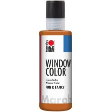 Marabu Window Color fun & fancy 80 ml hellbraun