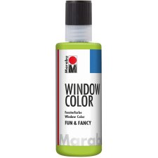 Marabu Window Color fun & fancy 80 ml reseda (gelbgrün)