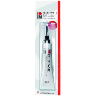 Marabu Reliefpaste metallic silber 20 ml in Tube