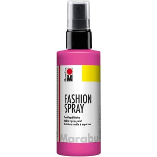 Marabu Textilsprühfarbe Fashion Spray pink 100 ml