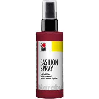 Marabu Textilsprühfarbe Fashion Spray bordeaux 100 ml