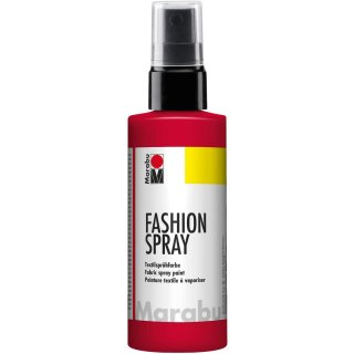 Marabu Textilsprühfarbe Fashion Spray rot 100 ml