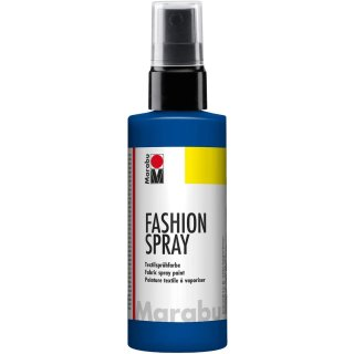 Marabu Textilsprühfarbe Fashion Spray marineblau 100 ml