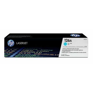 Original Toner für hp Color LaserJet CP1025 cyan
