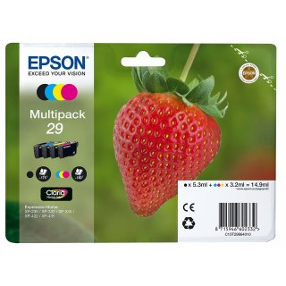 Original EPSON Tinte 29 für Expression Home XP 235 Multipack