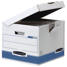 Fellowes BANKERS BOX SYSTEM Archiv Klappdeckelbox Kubus...
