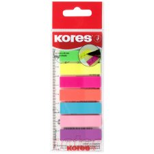 Kores Pagemarker Folie 12 x 45 mm Neonfarben 8 x 25...