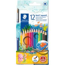 STAEDTLER Aquarellstift Noris Club aquarell 12er...
