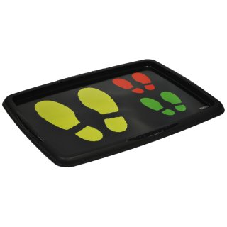 ok DECO Schuhablage Footprints (B)550 x (H)400 mm PP