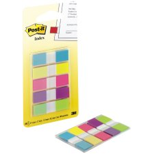 Post-it Haftmarker Index Mini 11,9 x 43,2 mm 5-farbig...