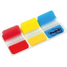 Post-it Haftmarker Index Strong 25,4 x 38 mm 3-farbig rot...