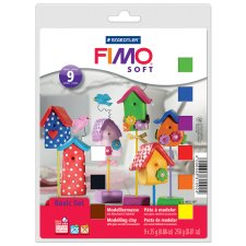 FIMO SOFT Modelliermasse Basic Set ofenhärtend