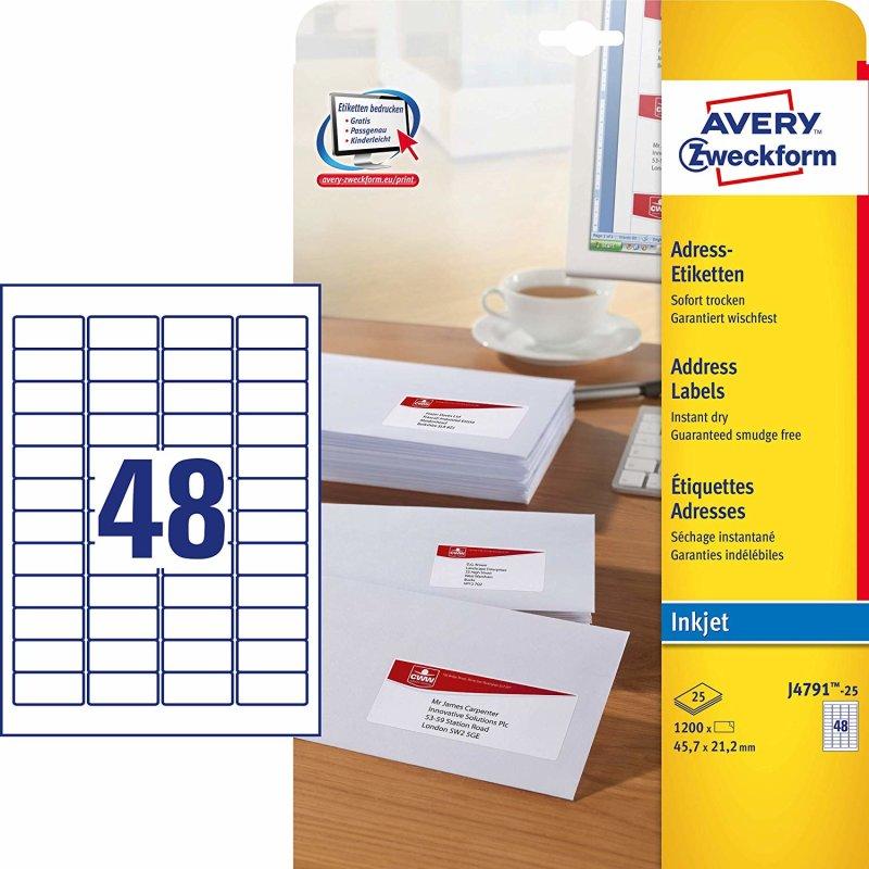 Kores Universal Etiketten weiß 97 x 67,7 mm 25 Blatt 200 Etiketten Labels Druck