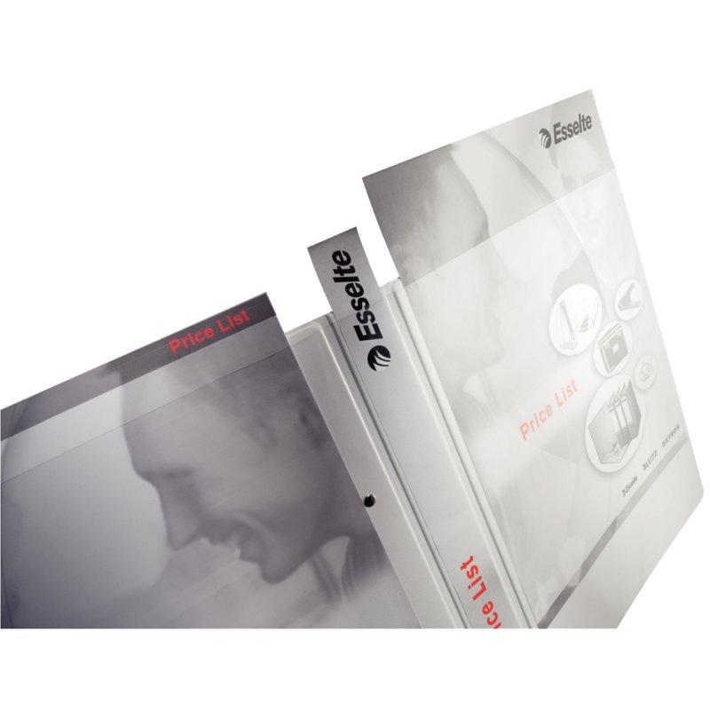 weiß LEITZ Präsentations-Ringbuch A4 Überbreite 2 D-Ring