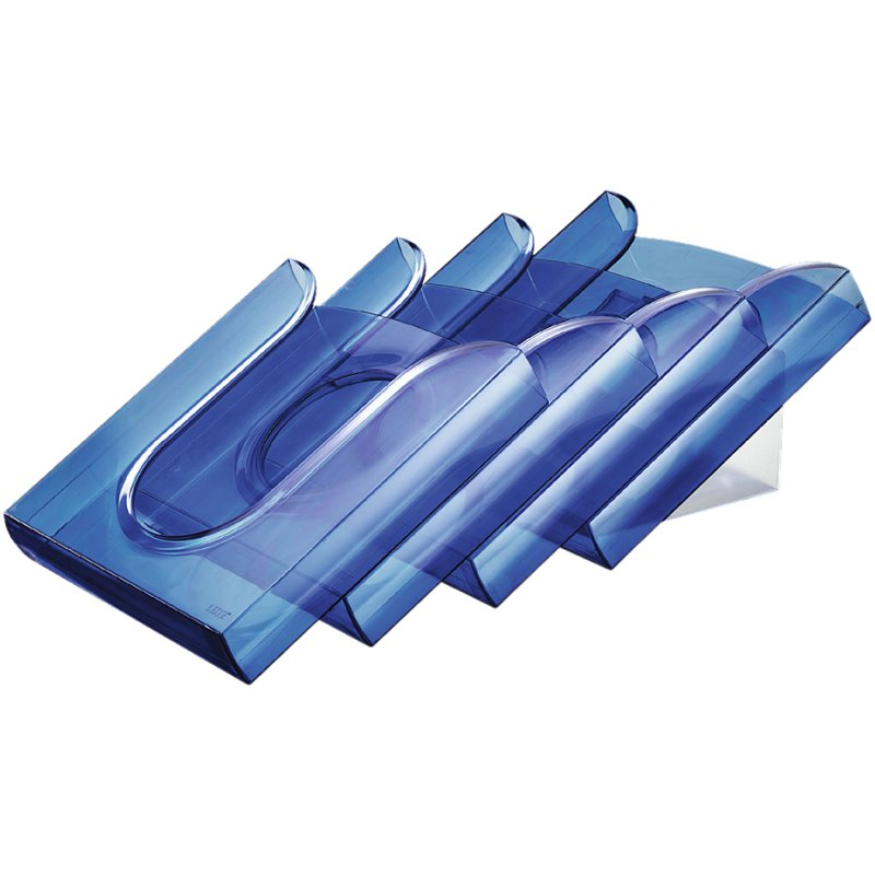 LEITZ Tisch-//Wandprospekthalter Presenter Set glasklar