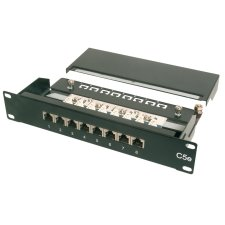 DIGITUS 10 Patch Panel Kat.5e Klasse D 12 x RJ45 1 HE