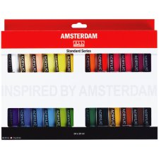 ROYAL TALENS Acrylfarbe AMSTERDAM Introset III 24 x 20 ml
