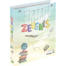 Zeugnismappe Zeugnisse /_ Schmetterlinge /& Blumen Ringbuch Zeugnisringbuch