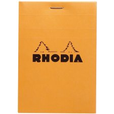 RHODIA Notizblock No. 12 85 x 120 mm kariert orange 80 Blatt
