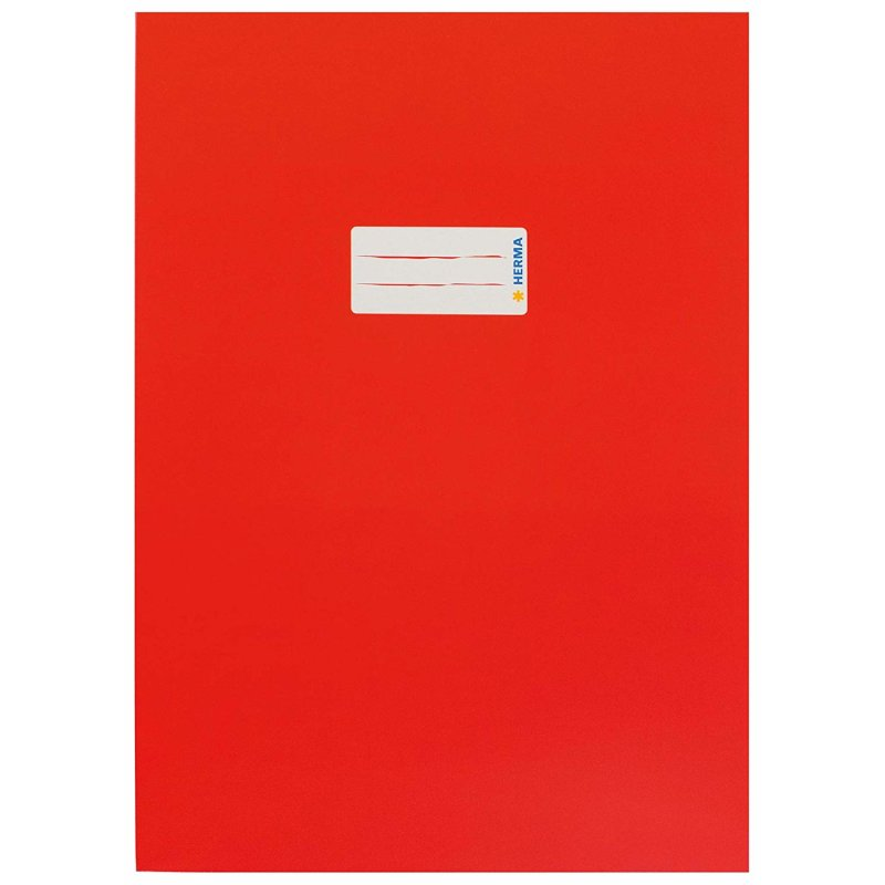 HERMA Heftschoner aus Karton DIN A4 rot