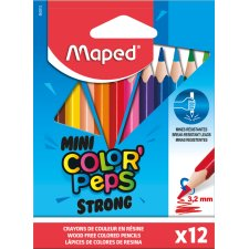 Maped Dreikant-Buntstifte COLORPEPS STRONG MINI 12er Etui